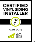 Vinyl Siding Institute Certified Installer logo