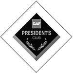 GAF Master Elite Presidents Club logo